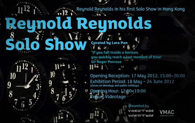 Reynold Reynolds at Videotage- HongKong