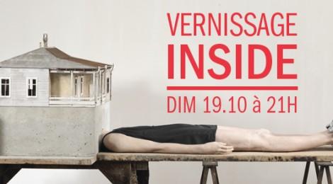 19 October -opening- 'Inside' at Palais de Tokyo