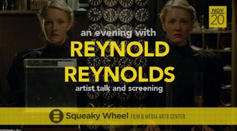 20 November 7PM: an evening with Reynold Reynolds at Squeaky Wheel, Buffalo NY